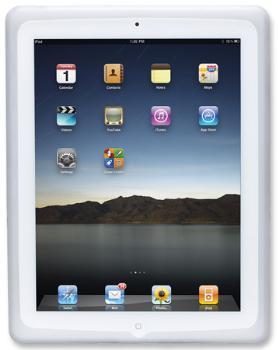 Manhattan Ochranné silikonové pouzdro pro iPad, šedé