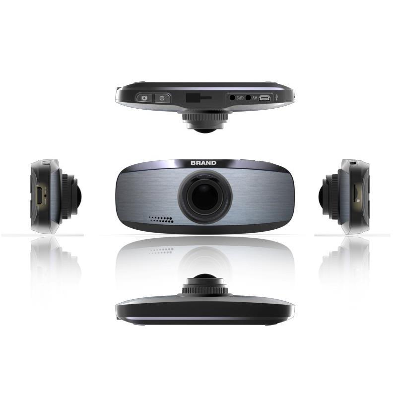 Qoltec Kamera do auta Full HD 1080p, LCD 2.7'', G-senzor