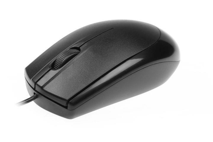 Natec DIVER optická myš, 1000 DPI, USB, černá (OEM)