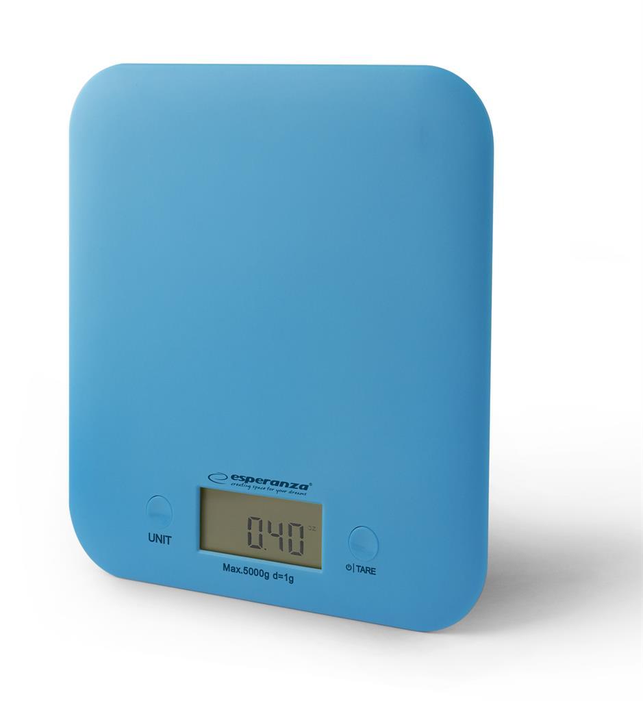 Esperanza EKS004B CHERRY kuchyňská váha, modrá