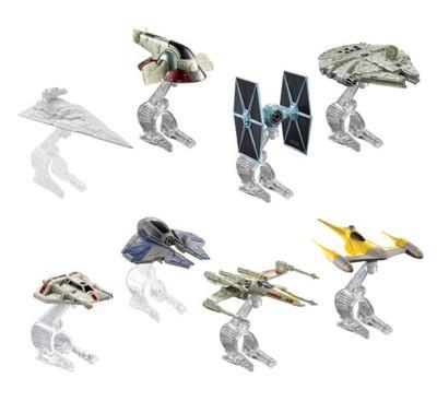 Mattel Hot Wheels Space ship Star WarsMix Cgw52