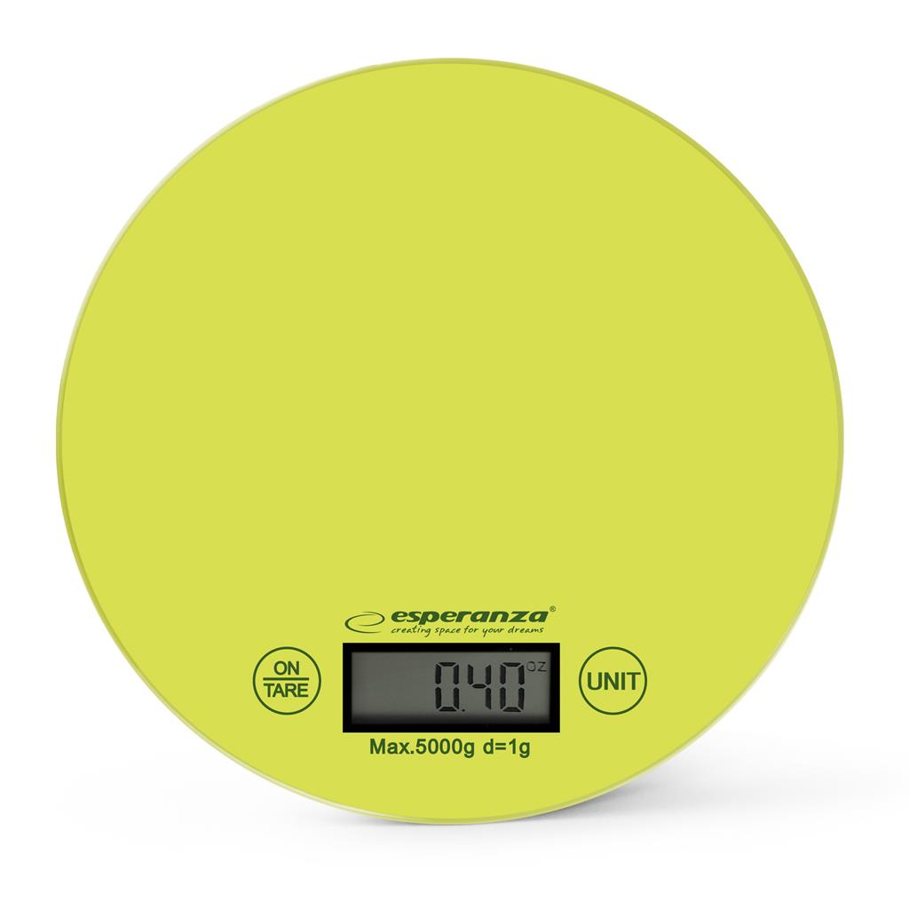 Esperanza EKS003G MANGO kuchyňská váha, zelená