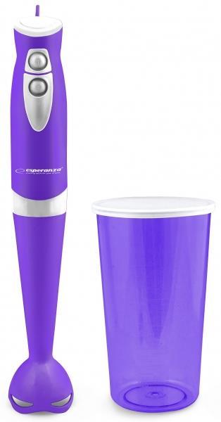 Esperanza EKM006V GELATO tyčový mixér s nádobou, fialový
