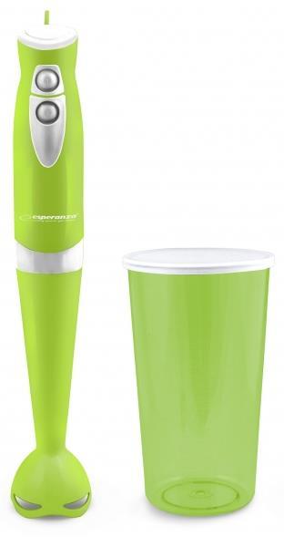 Esperanza EKM006G GELATO tyčový mixér s nádobou, zelený