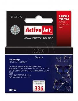 Inkoustová kazeta ActiveJet AH-336S | černá | 9 ml | HP HP 336 C9362EE