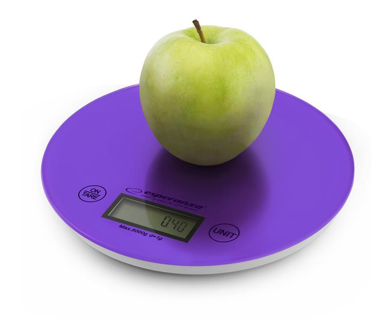 Esperanza EKS003V MANGO kuchyňská váha, fialová