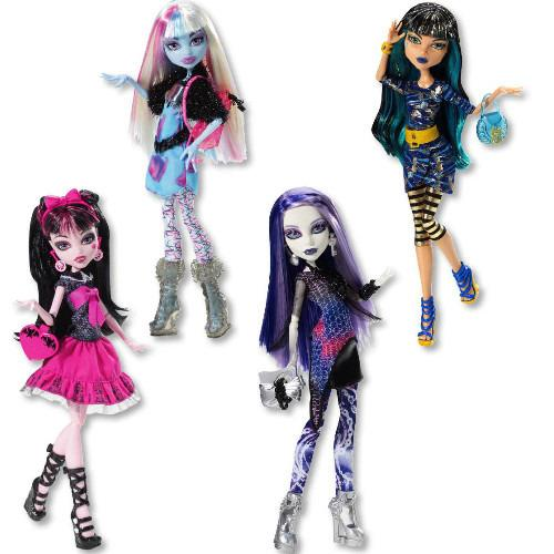 Mattel Monster High Monster students Monster High X4636 - doll