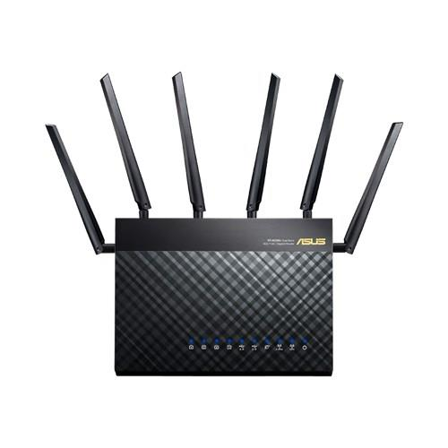 Asus RT-AC3200 Tri-band Gigabit Router 802.11ac, 1300Mbps + 1300Mbps