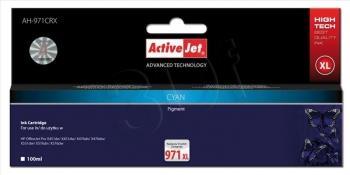 Kazeta ActiveJet AH-971CRX | Cyan | 100 ml | HP HP 971XL CN626AE