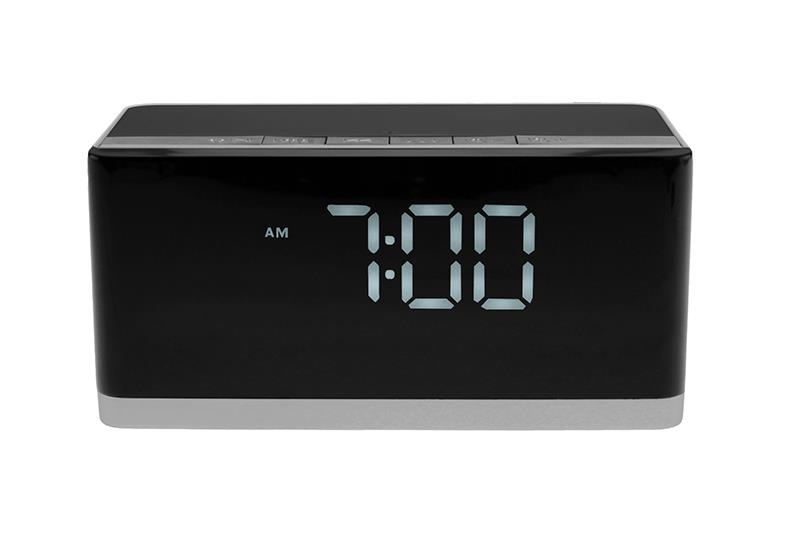 WAKEBOX BT - Digital radio/alarm clock, bluetooth speaker