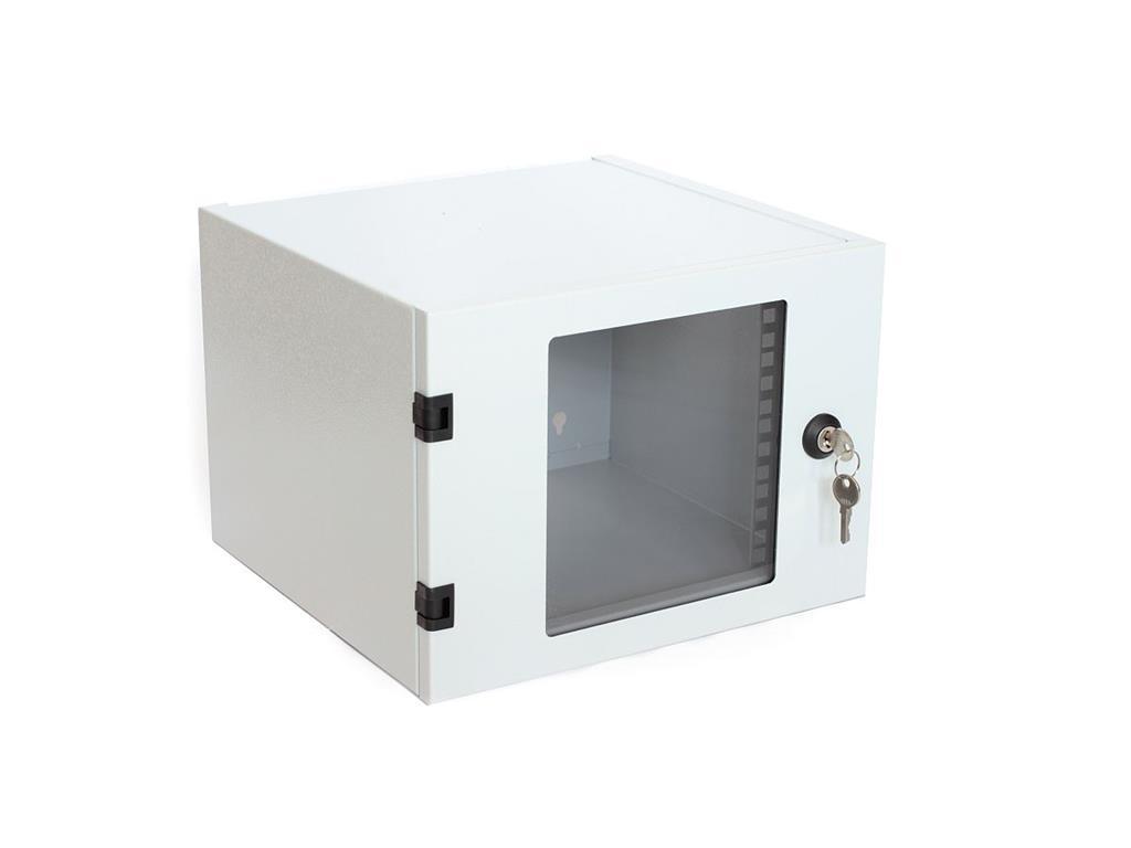 DIGITUS Nástěnný rozvaděč 10'' jednodílný 4U 315x232x300 Ral 7035