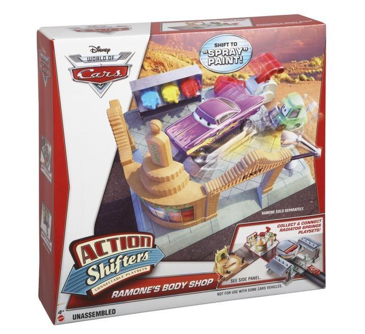 Mattel Cars Mountain Radiator Track set Bdf62