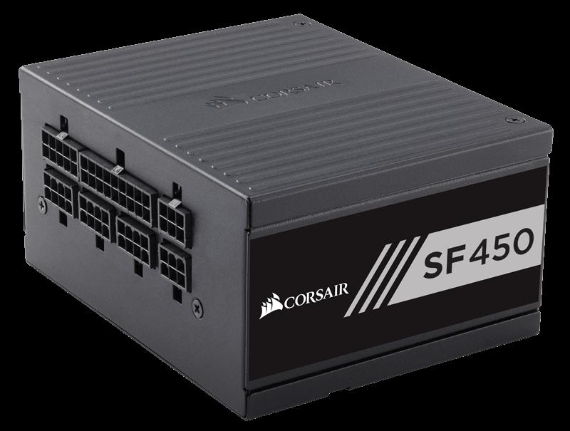 Corsair zdroj 450W SF Series SF450, 80 PLUS Gold, 125mm ventilátor