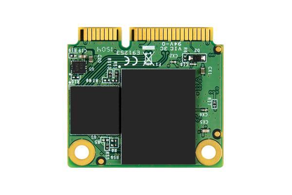 Transcend 128GB mSATA SSD 6GB/s, SATA3 , MLC (čtení/zápis; 510/160MB/s)