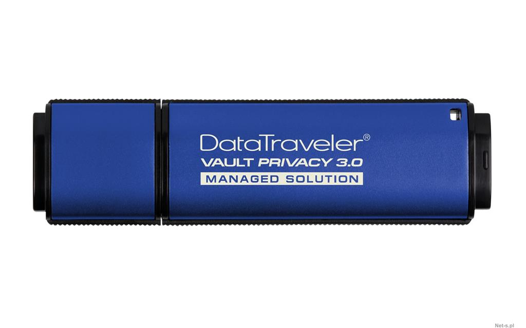 Kingston DataTraveler Vault Privacy 3.0 64GB 256 AES FIPS 197 (Management Ready)