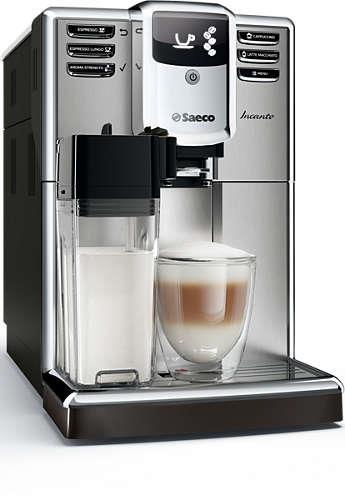 Kávovar Saeco HD8917/09 Incanto | stříbrný