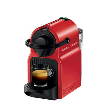 Coffee machine Krups XN1005 Nespresso Inissia | red