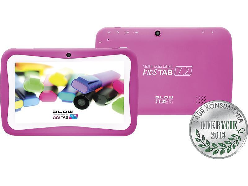 Tablet BLOW KidsTAB 7.4 pink + pouzdro