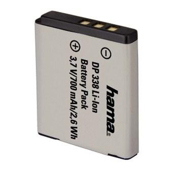 Hama fotoakumulátor Li-Ion 3,7 V/700 mAh, typ Fuji NP-50, Pentax D-Li68, Kodak KLIC7004