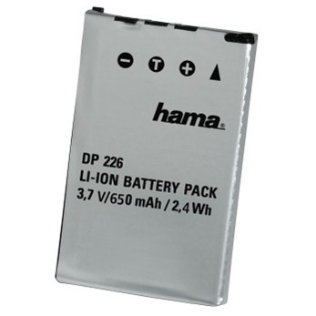 Hama fotoakumulátor Li-Ion 3,7V/650mAh, typ Casio NP-20