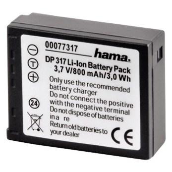 Hama fotoakumulátor Li-Ion 3,7V/800mAh, typ Panasonic CGA-S007E