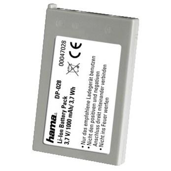 Hama fotoakumulátor Li-Ion 3.6V/ 1000mAh, typ Nikon EN-EL5