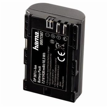 Hama fotoakumulátor Li-Ion 7,2 V/1430 mAh, typ Canon LP-E6