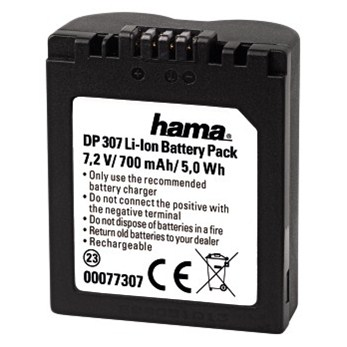 Hähnel HL-005 - Panasonic CGA-S005, 115