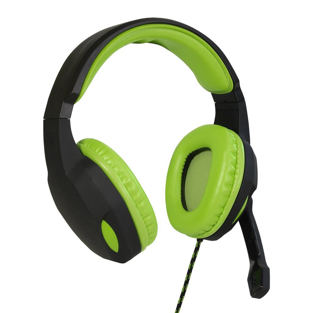 ART GAMING Headphones with microphone LIZARD 1xmini Jack + adapter 2xmini Jack