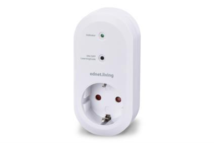 EDNET Indoor Smart Plug WiFi ''EDNET LIVING''
