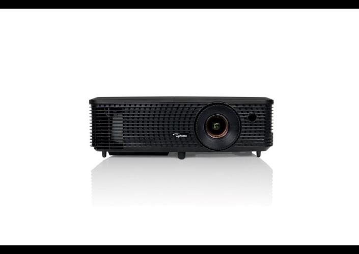 Optoma projektor EH330 (DLP, 1080p, 3 100 ANSI, 22 000:1, HDMI, VGA, 2W speaker)