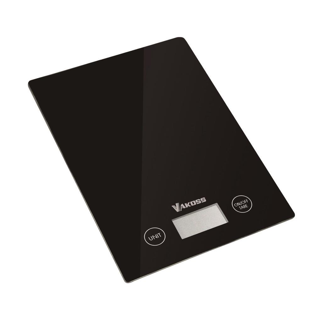 Vakoss kuchyňská váha WH-5368K | černá