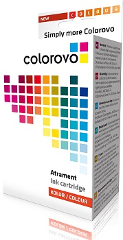 Inkoust COLOROVO 1280-Y | Yellow | 19 ml | Brother LC1280Y