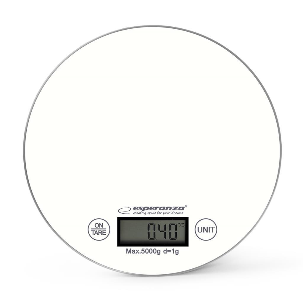 Esperanza EKS003W MANGO kuchyňská váha, bílá