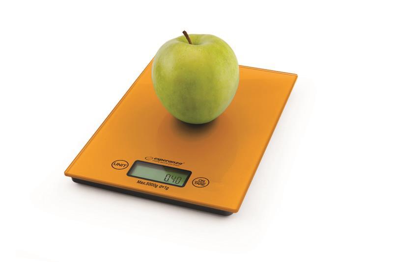 Esperanza EKS002O LEMON kuchyňská váha, oranžová