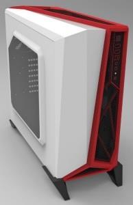 Corsair PC skříň Carbide Series™ SPEC-ALPHA Micro-ATX, Mini Itx, bílo-červená