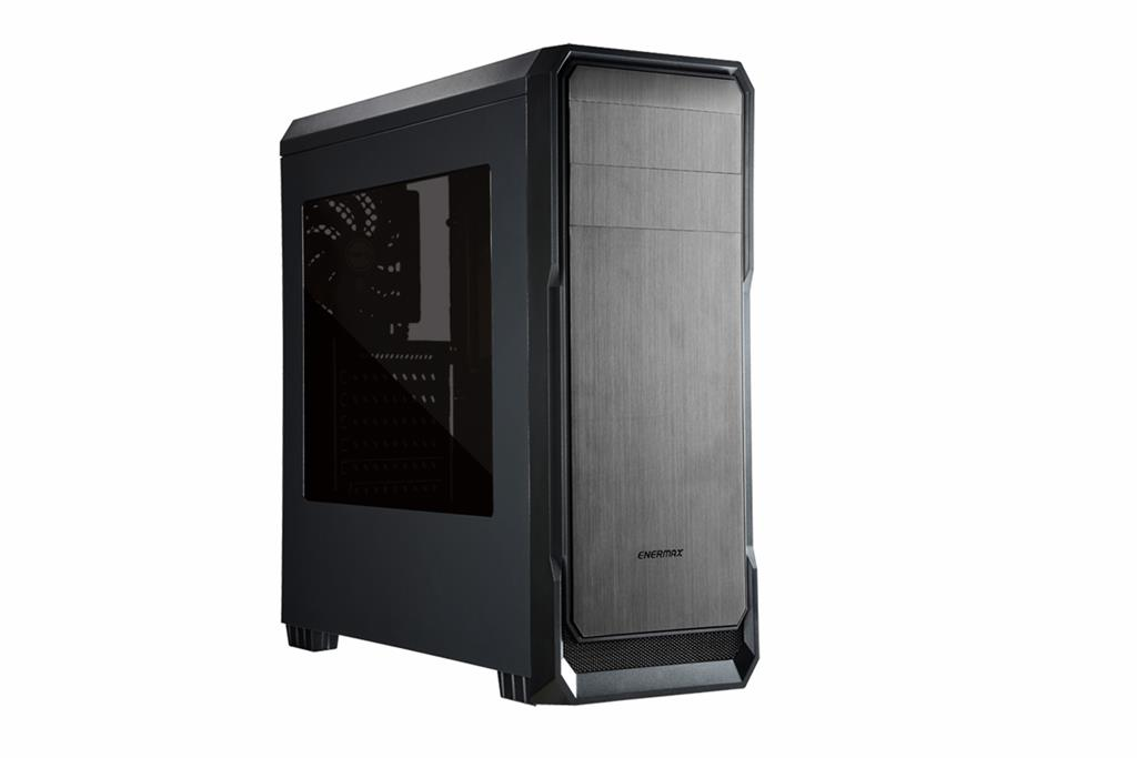 Enermax case Ostrog lite Gray, without PSU