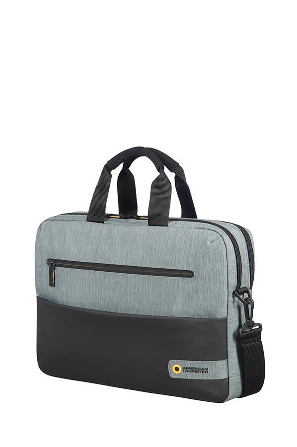Bag American Tourister 28G09004 CD 15,6'' comp, doc, tblt, pock, blk/grey