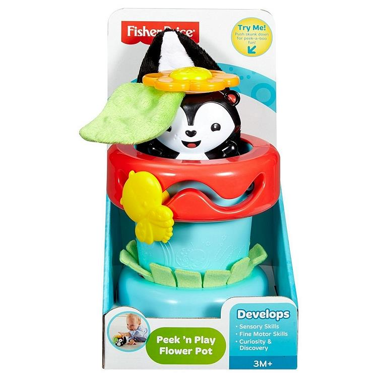 Fisher Price Flower Pot, baby toy