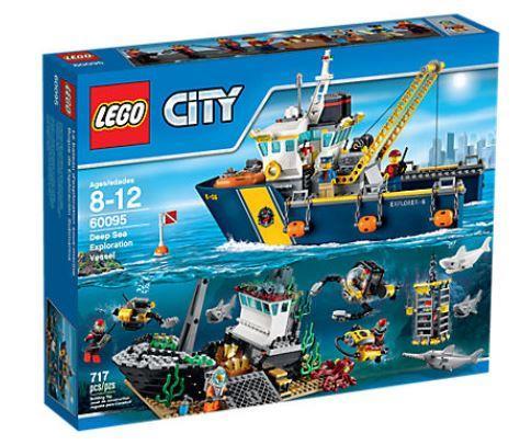 LEGO CITY 60095 Deep Sea Exploration Vessel