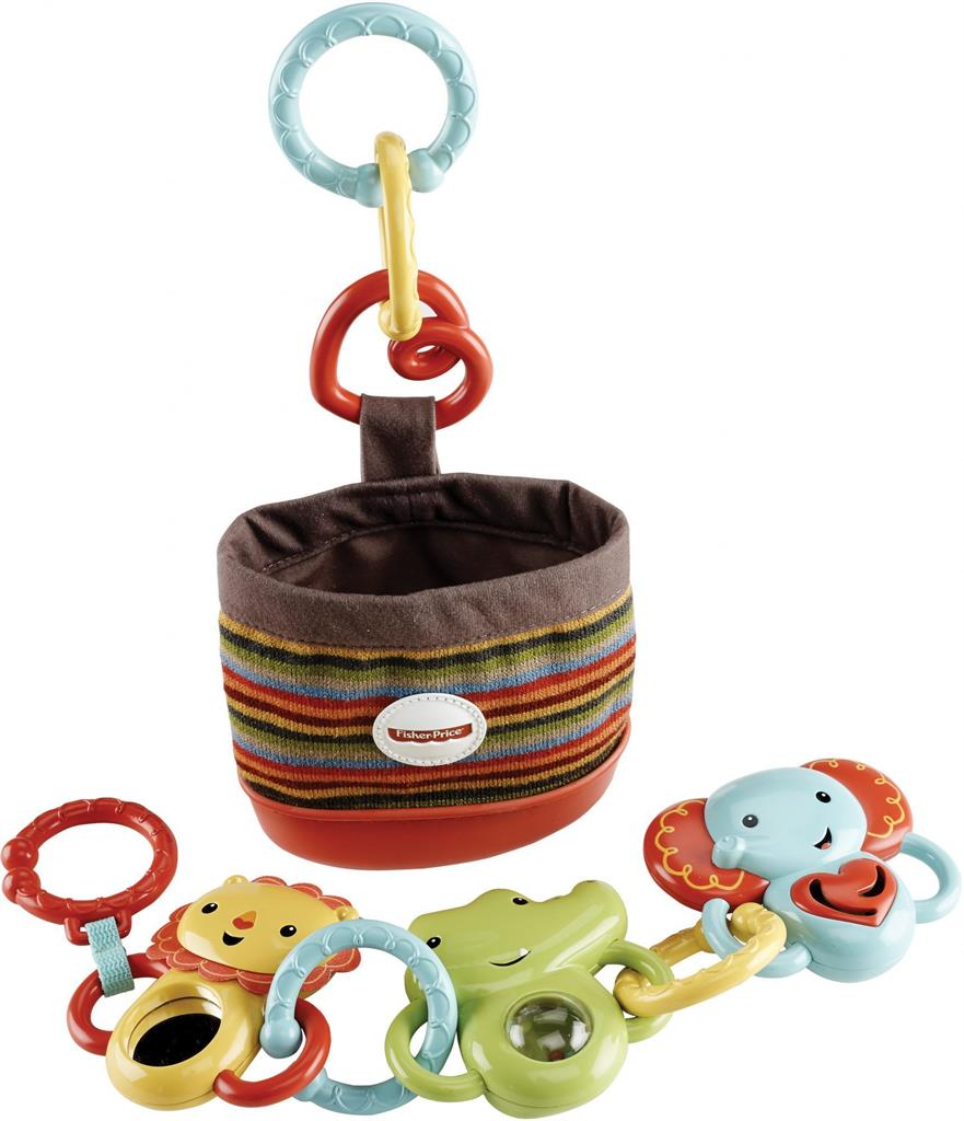 Fisher Price Walking friends, set of pendants