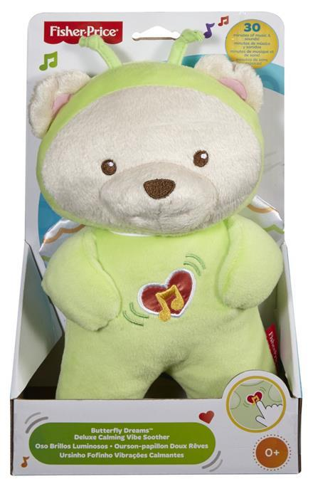 Fisher Price mascot Bear-butterfly