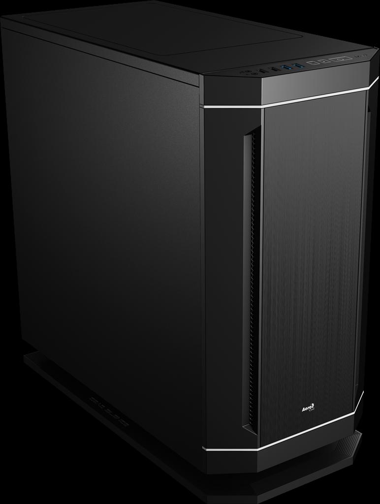 PC skříň Aerocool ATX DS 230 BLACK, USB 3.0, bez zdroje