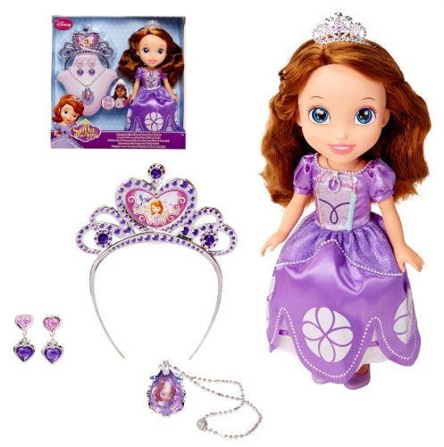 JAKKS PACIFIC Sofia The First, doll + jewelry for girls