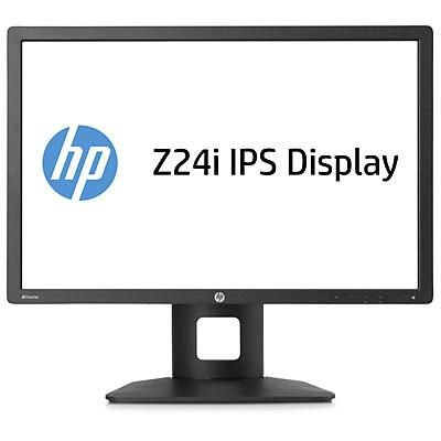 HP LCD Z24i 24'' AH-IPS 16:10 wide 8ms 1000:1 VGA DVI-D DP USB HUB