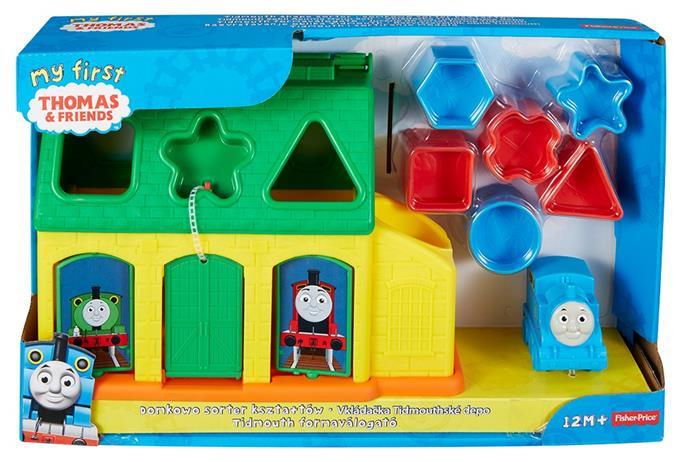 Fisher Price Thomas and Friends shapes sorter