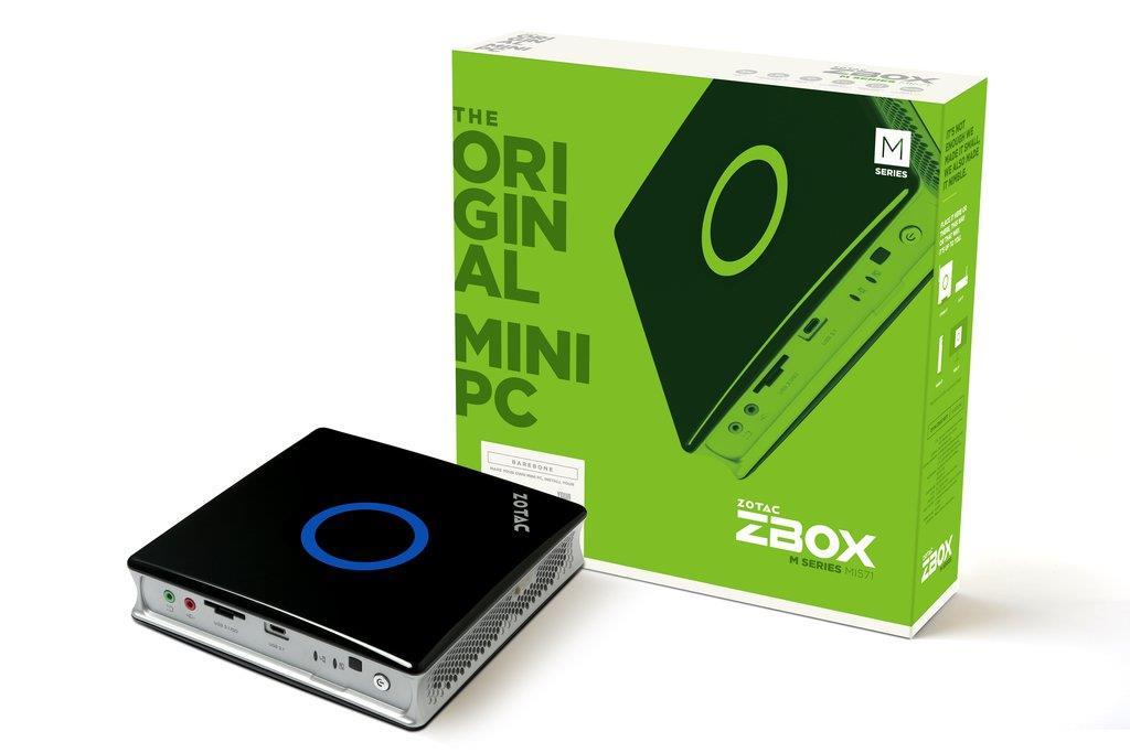 ZOTAC ZBOX MI571, Barebone, Intel i7-6700T, DDR3-1600, 2.5'' SATAIII, M.2 SSD