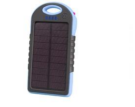 Externí solární baterie Tracer 5000 mAh, modrý
