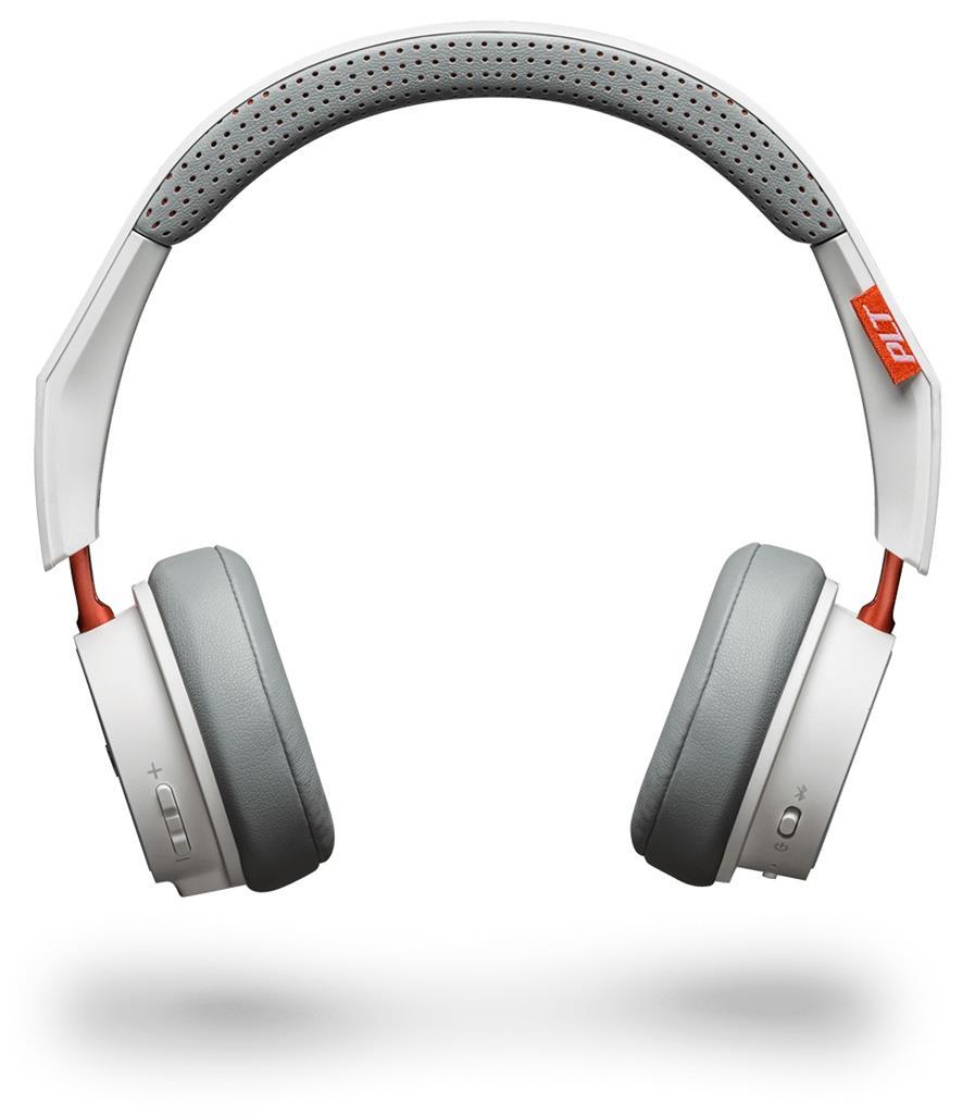 Plantronics BackBeat 500 Bluetooth stereo sluchátka s mikrofonem, bílá