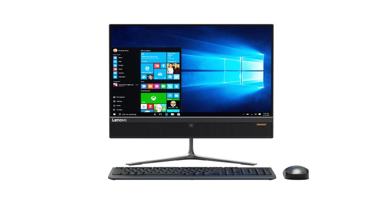 "Lenovo IdeaCentre AIO 510-22ISH i3-7100T 3,40GHz/4GB/1TB/21,5"" FHD/DVD-RW/WIN10 černá F0CB00WXCK"